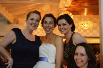 Rita, Michelle, Me and Kate